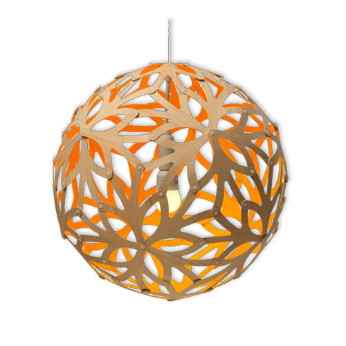 플로랄 오렌지 펜던트Floral Orange